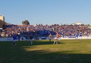 Estrela y Belenenses se enfrentaron en un histórico duelo del fútbol portugués