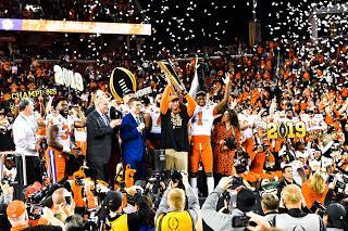 Clemson vence el Campeonato Nacional de fútbol americano universitario tras arrollar a Alabama