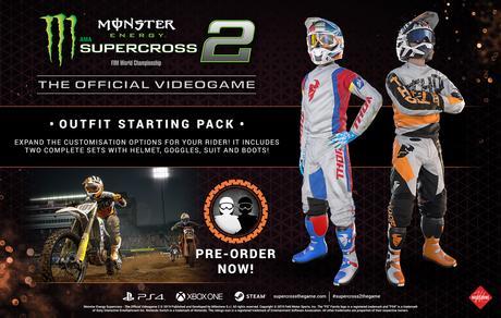 Nuevo tráiler de Monster Energy Supercross – The Official Videogame 2 e incentivos de reserva