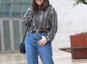 Look ochentero jeans rectos