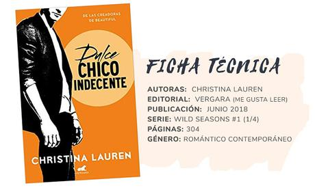 Reseña: DULCE CHICO INDECENTE - Christina Lauren