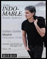 Concierto de Nando Agüeros en Sala Galileo