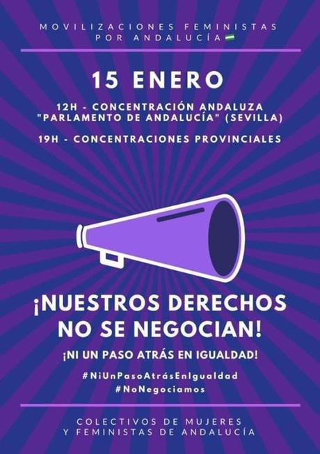 Nuestros derechos NO se negocian: 15.01.2019