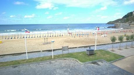 Playa de Deba en Pais Vasco