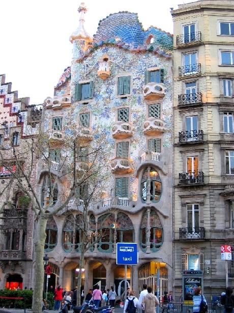Recopilatorio CocinArte- Casa Batlló de Antoni Gaudí