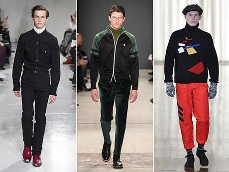 Outfits cuello alto para hombres