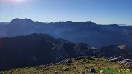 Vista del Tiatordos desde el Pico Pierzu