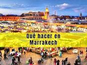hacer Marrakech días