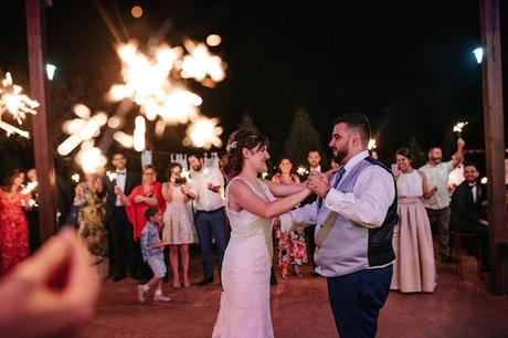 La boda romántica de Santi y Laura