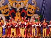 Mérida.- Concurso chirigotas comparsas (Carnaval Romano)