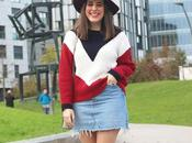 Outfit casual jersey tricolor