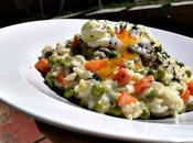 Risotto cremoso verduras