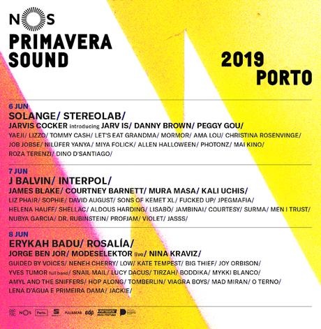NOS Primavera Sound 2019: Interpol, Solange, Erykah Badu, Rosalía, J Balvin, Jarvis Cocker, James Blake, Christina Rosenvinge...