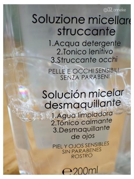 Solución micelar Pureté Thermale 3 en 1 de VICHY