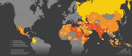4.305 cristianos murieron por su fe en 2018