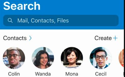 Organiza tus contactos en Outlook.com en carpetas