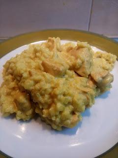 Los niños cocinan: pollo al curri con arroz