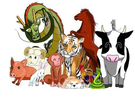 El zodiaco chino, o por qué a cada año le corresponde a un animal