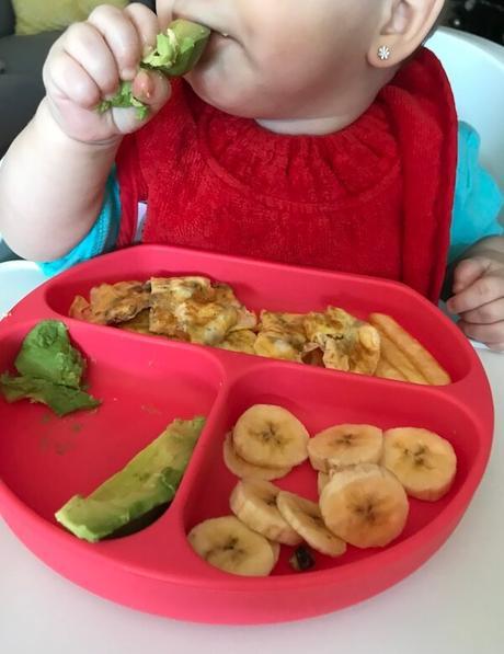Alimentación complementaria sin triturar con 8 meses