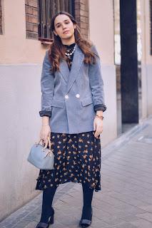 Corduroy blue Jacket