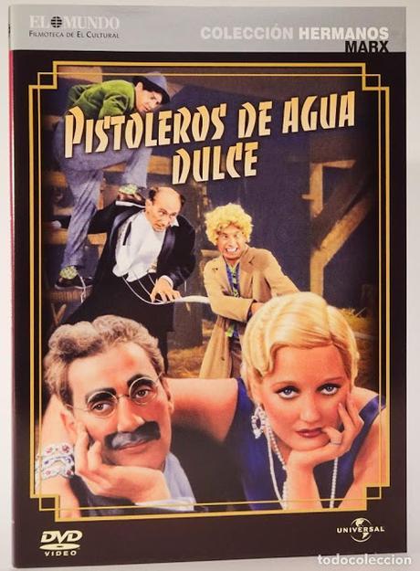 PISTOLEROS DE AGUA DULCE (Hermanos Marx 1931)