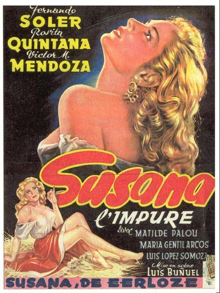 Susana (Demonio y carne) - Luis Buñuel 1950