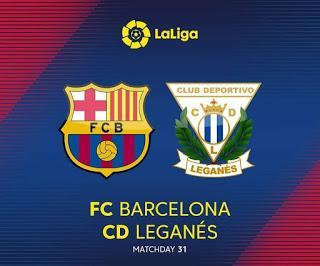 Vídeo: Resumen de FC Barcelona vs  Leganes  enero 2019