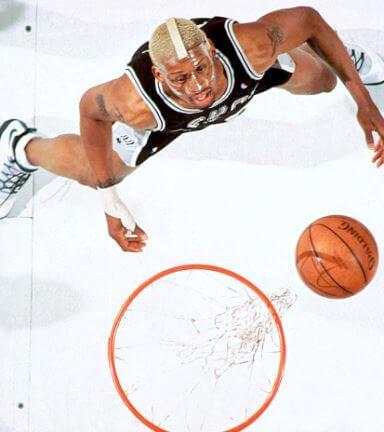 El extraordinario record de Dennis Rodman