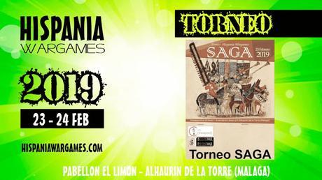 Cartel oficial de las Hispania Wargames 2019 y mas confirmaciones