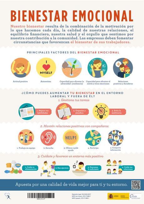 Salud y bienestar laboral: el bienestar emocional
