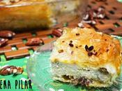Tiropita pasas nueces (pastel griego queso masa filo)
