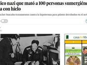 Crueles experimentos nazis prisioneros dachau para investigar efectos hipotermia cuerpo humano