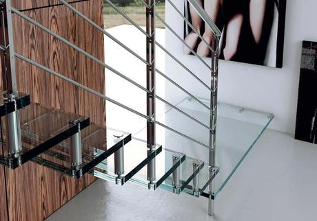 Escaleras autoportantes, escaleras Glam de Enesca
