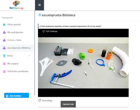 BeChallenge, novedosa Plataforma de aprendizaje basado en retos para potenciar las habilidades del siglo XXI   @bechallengeio
