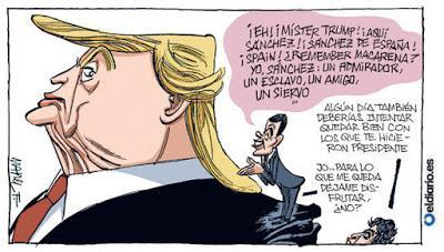 Los mamporreros de Trump