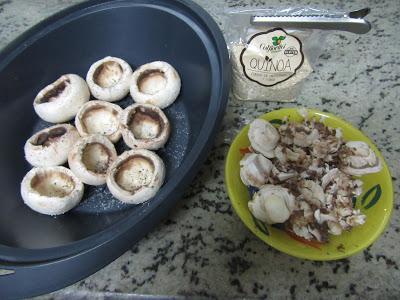 Quinoa con champiñones Thermomix