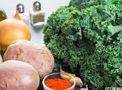 Receta kale patatas, huevo pimentón (kale extremeña)