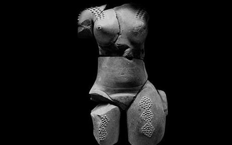 """La """"Venus Huasteca"""" se expone en el Museo Nadcional  de Antropología e Historia"""