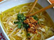 SOPA NOODLES POLLO ESTILO THAI (kuay tiew)