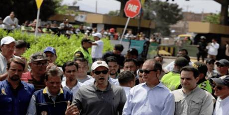 Se convierten Rubio, Díaz-Balart y Trujillo en vedettes de show mediático contra Venezuela en Cúcuta