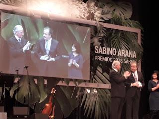 Txomin Bereciartua galardonado con el Premio Sabino Arana