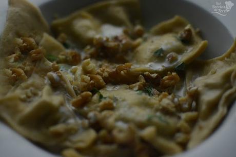 Raviolis con queso azul nueces y manzana tererecetas 03