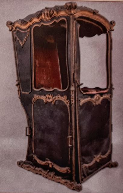 La silla de manos del desaparecido Hospital de Esgueva