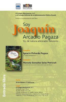 PRESENTAN LIBRO SOBRE LA VIDA DE JOAQUÍN ARCADIO PAGAZA