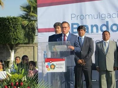 FRANCISCO TENORIO RESALTO QUE EL BANDO MUNICIPAL ES TOTALMENTE RECONSTRUIDO