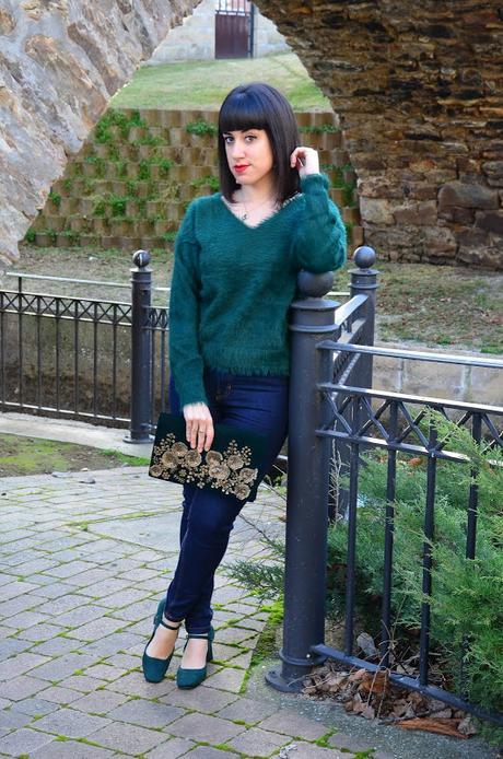 Look tonos esmeralda