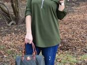 Camiseta verde oliva
