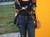 Kimono flores bombonera crochet