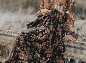 Tendencias primavera 2019: boho floral dress días looks