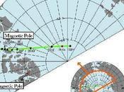 polo magnético terrestre está invirtiendo